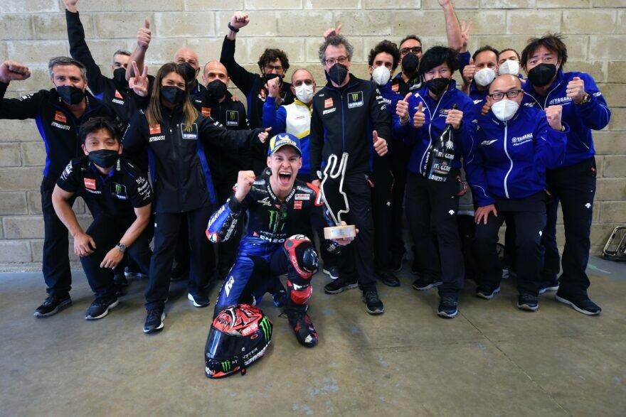 Фабио Квартараро и Monster Energy Yamaha MotoGP